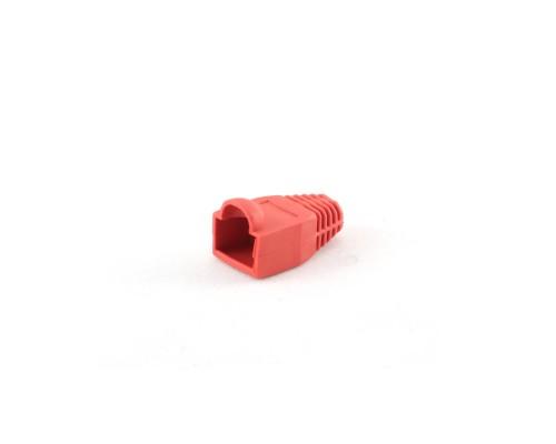 Колпачок изолирующий Gembird BT5RD/5 для RJ-45, красный