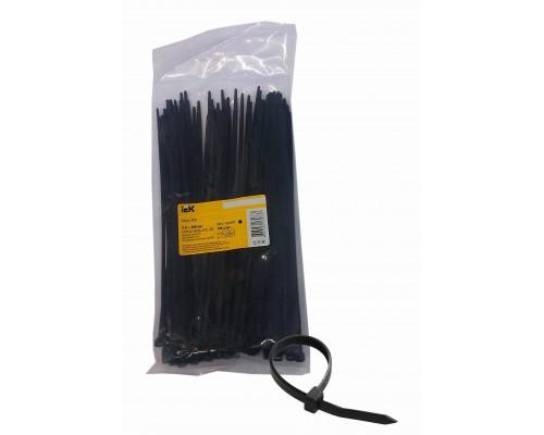 Стяжка 200мм UHH32-D036-200-100 нейлон 200x3.6мм (100шт) черный