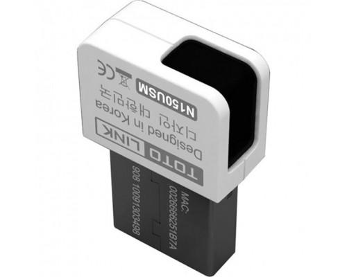 Адаптер Wi-Fi 802.11n TOTOLINK N150USM, 2.4 ГГц, 150Мбит/с, 1 внутренняя антенна, USB2.0