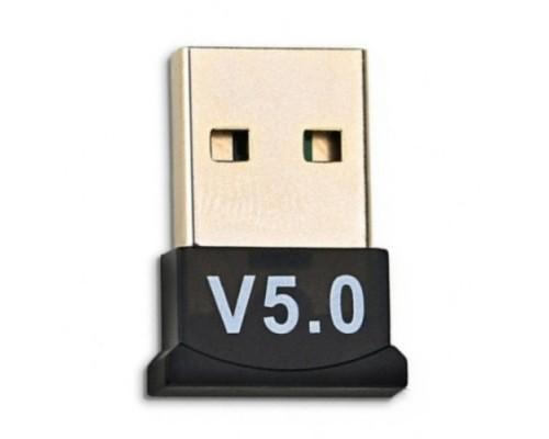 Адаптер Bluetooth KS-is KS-408, черный, мини, 5.0, до 20м, USB