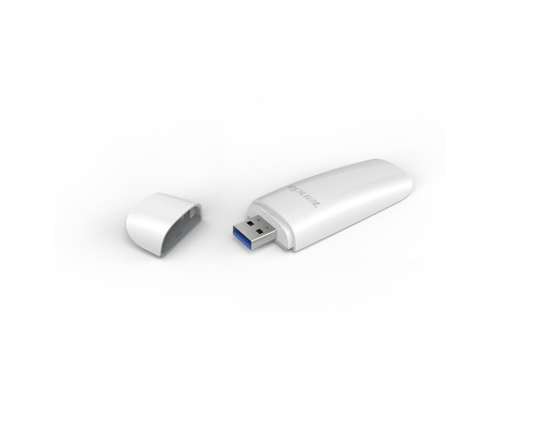 Адаптер Wi-Fi 802.11ac Tenda MU-MIM U12, 2.4/5 ГГц, 400/867Мбит/с, USB3.0