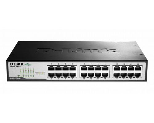 Коммутатор D-Link DGS-1024D/I1A, 19RM, 24x 1Гбит/с