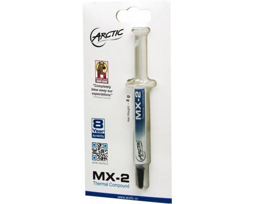 Термопаста Arctic Cooling MX-2, шприц, 8г, теплопроводность 5,6 Вт/м*К