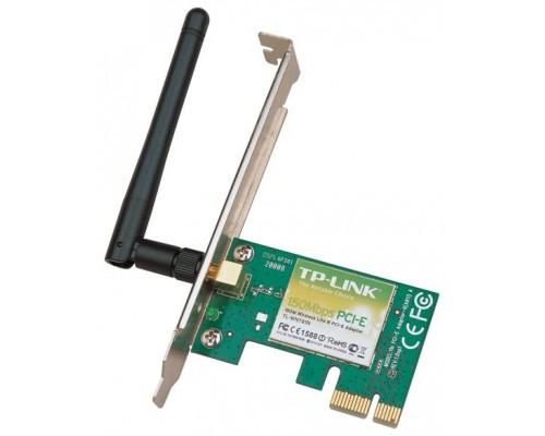 Адаптер Wi-Fi 802.11n TP-Link TL-WN781ND 150Мбит/с PCI-Ex1, внешняя антенна 1x2 dBi