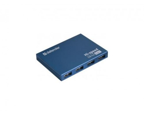 Разветвитель USB 2.0 7port Defender Septima Slim (внешний, с блоком питания) Art.83505