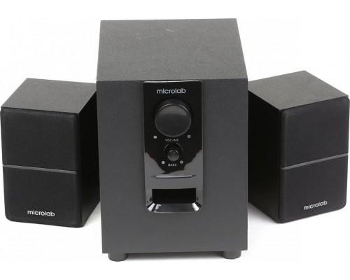 Актив. акуст. система 2.1 Microlab M-106 сабвуфер 10Вт, сателлиты 2x2.5Вт, дерев. корпус SW, черный
