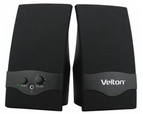 Актив. акуст. система Velton VLT-SP128 2.0, 2x1вт, питание от USB