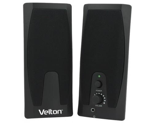 Актив. акуст. система Velton VLT-SP205, 2x1вт, питание от USB