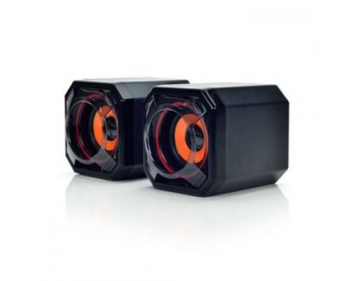 Актив. акуст. система Velton VLT-SP104UBl, 2x5вт, питание от USB, черный