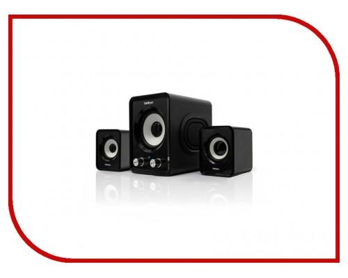 Актив. акуст. система Velton VLT-SP105UBl, 2x5вт, питание от USB, черный