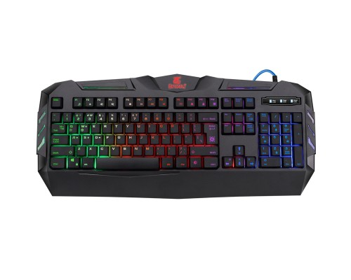 Клавиатура Defender GK-120DL Werewolf игровая влагозащищенная, RGB подсветка, черный 45120