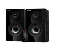 Актив. акуст. система Sven SPS-615 2х10w RMS, c MP3 плеером, USB, microSD, Bluetooth, черный