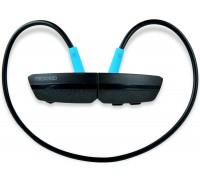 Гарнитура Microlab T967BT беспроводные Bluetooth 4.1, в режиме работы до 10 часов, вставные, черно- синий