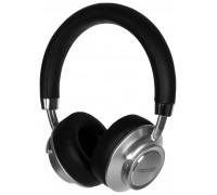 Гарнитура Microlab T969BT беспроводные Bluetooth 4.1, в режиме работы до 7 часов, накладные, черно- серебристый