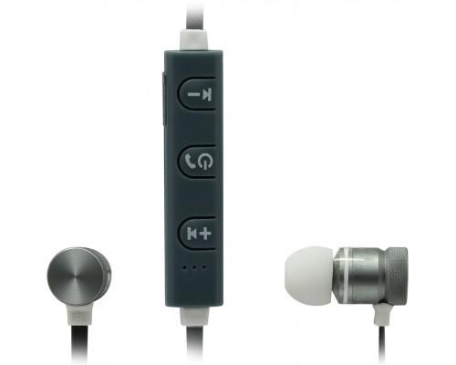 Гарнитура Defender OutFit B710 Black/White, беспроводная Bluetooth 4.1, с регулятором громкости, вставные (63710)