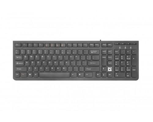 Клавиатура Defender UltraMate SM-530, USB, черный (45530)