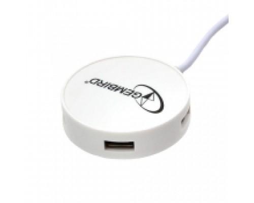 Разветвитель USB 2.0 4port Gembird UHB-241 (внешний) белый