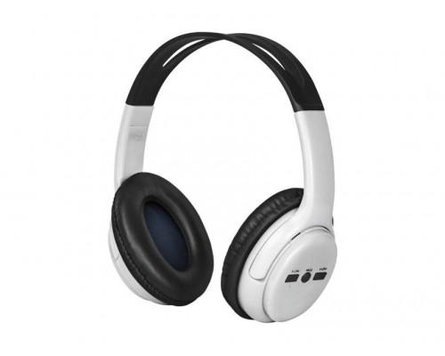 Гарнитура Defender FreeMotion B520 White, беспроводная Bluetooth 4.2, до 7 часов работы, наушники накладные полноразмерные, белый (63521)