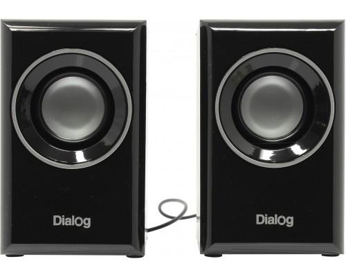 Актив. акуст. система Dialog Stride AST-15UP, 2х3Вт, USB-питание, материал корпуса MDF, черные