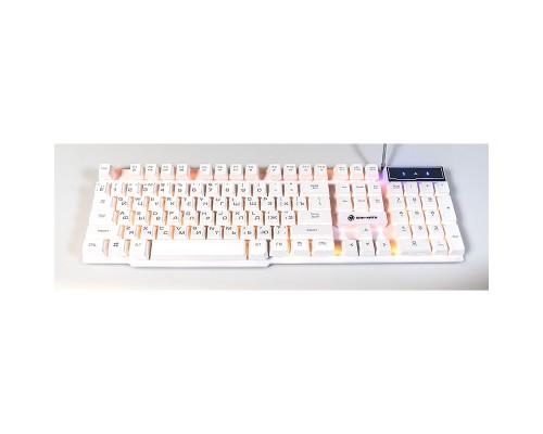 Клавиатура Dialog Gan-Kata KGK-15U подсветка, мультимедиа, игровая, USB, серебристый
