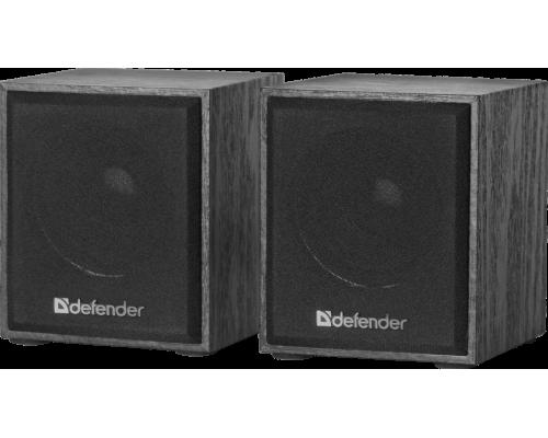 Актив. акуст. система 2.0 Defender SPK 230, 2х2Вт, мини, USB-питание, корпус МДФ, черные