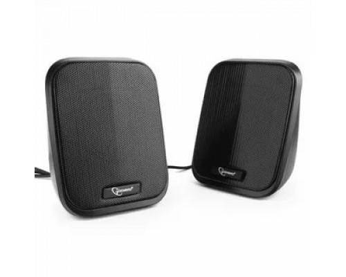 Актив. акуст. система Gembird SPK-100, 2х3Вт, USB-питание, черный