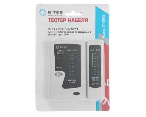 Тестер-LAN 5Bites LY-CT005 для UTP, STP, RJ45, RJ11/12