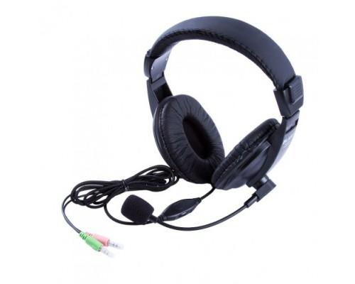 Гарнитура Blast BAH-450 накладные оголовье кабель 2м темно-серебристый