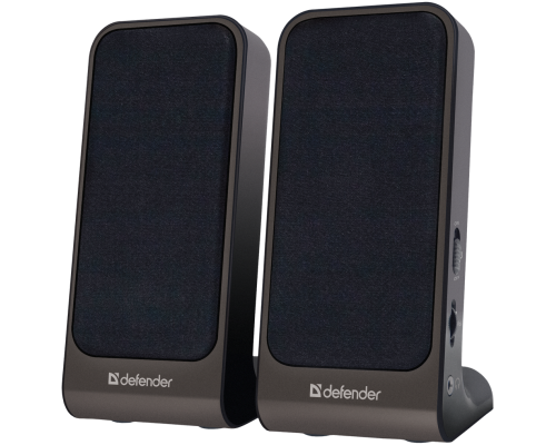 Актив. акуст. система 2.0 Defender SPK 225 2х2 Вт USB-питание длина кабеля 0,9м черный (65220)