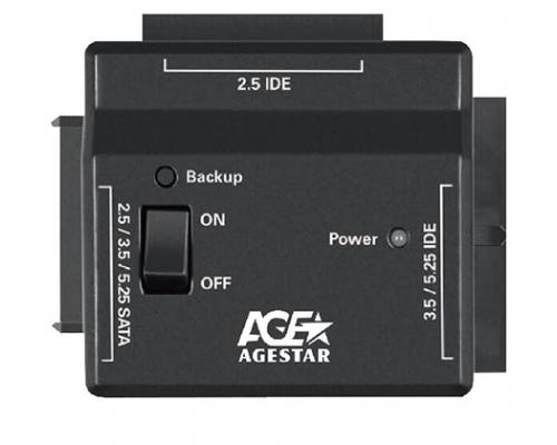 Адаптер HDD Agestar FUBCP2 SATA/IDE (2.5/3.5/5.25) HDD -> USB2.0 HDD, с блоком питания