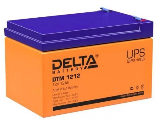 Аккумуляторная батарея для ИБП Delta DTM 1212 12V, 12A·h