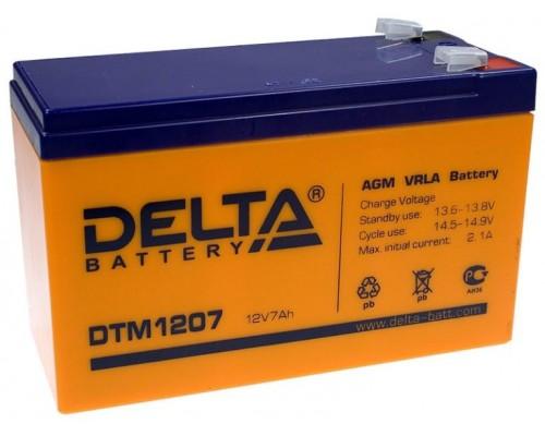 Аккумуляторная батарея для ИБП Delta DTM 12V, 7,2A·h