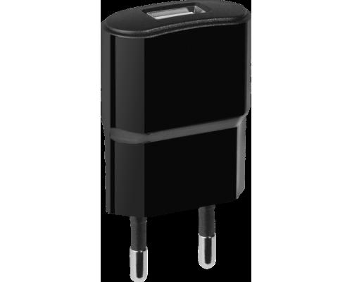 Адаптер питания 220V -> 5V 1000mA Defender UPC-10 1xUSB 1A, в комплекте кабель microUSB, черный (83542)