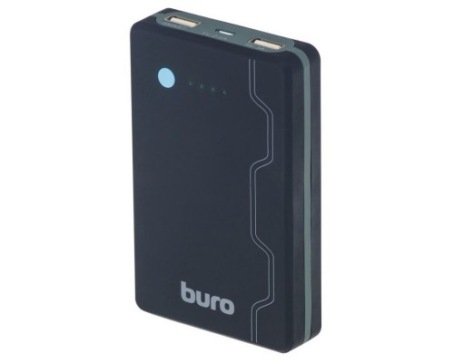 Аккумулятор Buro RA-13000-QC3.0 Power Bank универсальный, для портативных устройств, 13000mAh, Li-Pol, 2xUSB, Quick Charge 3.0, черный