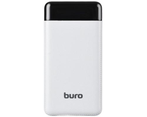 Аккумулятор Buro RC-16000-WT Power Bank универсальный, для портативных устройств, 16000mAh, Li-Ion, 2xUSB, 2,1A, белый