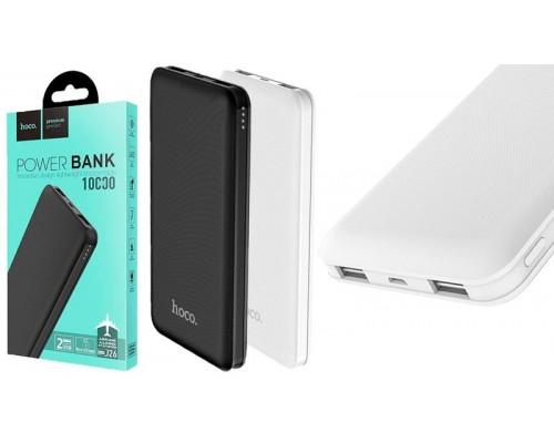 Аккумулятор Hoco J26 Simple Energy Mobile Power Bank универсальный, для портативных устройств, 10000mAh, 2xUSB 2,1A, индикатор заряда, черный