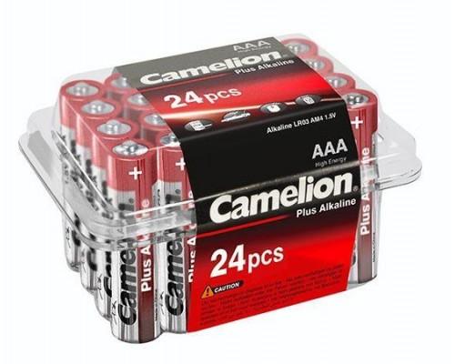 Элемент питания  AAA Camelion LR03-PB24 24шт./уп. (1шт)