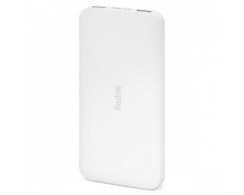 Аккумулятор Xiaomi Redmi Power Bank PB100LZM VXN4286GL Power Bank универсальный, для портативных устройств, 10000mAh, Li-Pol, 2xUSB 2,4A, белый