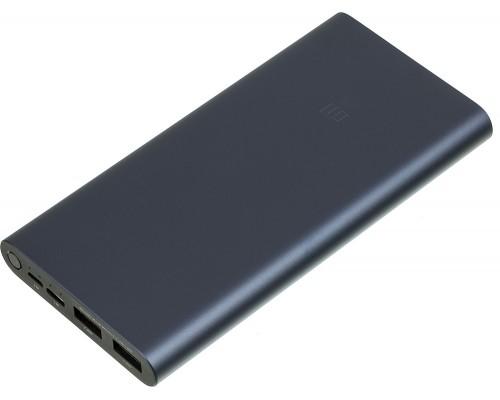 Аккумулятор Xiaomi Redmi Power Bank 3 PLM13ZM VXN4274GL Power Bank универсальный, для портативных устройств, 10000mAh, Li-Pol, 2xUSB 2,4A, металл, черный