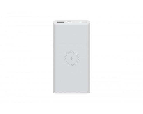 Аккумулятор Xiaomi Mi Essential VXN4294GL Power Bank универсальный, для портативных устройств, 10000mAh, Li-Pol, 2xUSB 2,4A+3A QC, беспроводная зарядка, белый