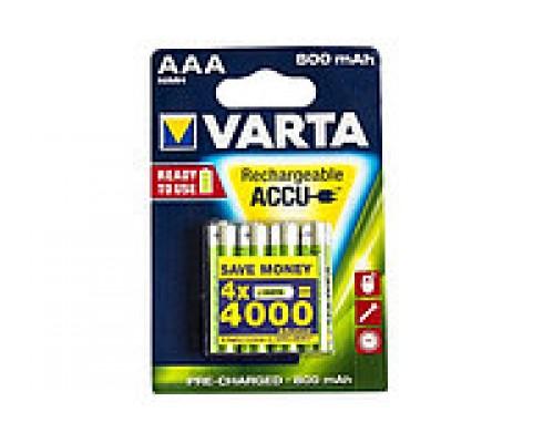 Аккумулятор AAA Varta Professional 56703 HR03 800mAh