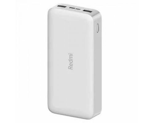 Аккумулятор Xiaomi Redmi Power Bank PB200LZM VXN4285GL универсальный, для портативных устройств, 20000mAh, Li-Polimer, 2xUSB, 2,4A, белый