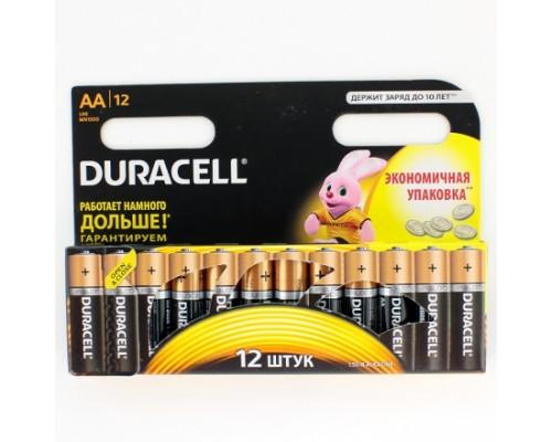Элемент питания  AA Duracell Basic MN 1500/LR6 B12/B18