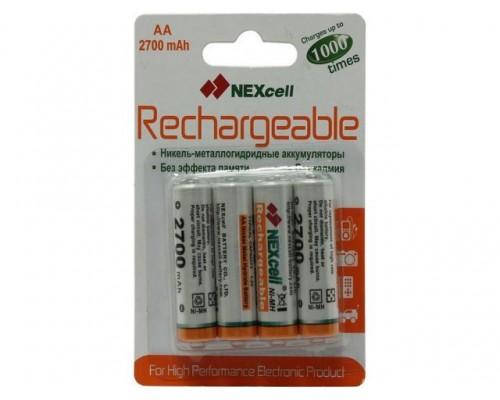 Аккумулятор AA NEXcell 2700 мАч Ni-MH 4шт./уп. (1шт)