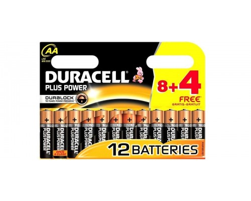 Элемент питания  AA Duracell Basic MN 1500/LR6 12BL/8BL (1шт.)