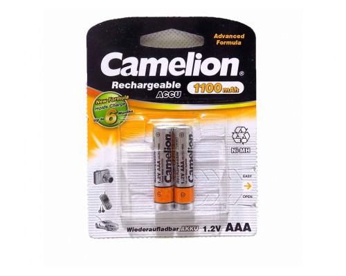 Аккумулятор AAA Camelion NH-AAA800BP2 Ni-MH 800 mAh (1шт)