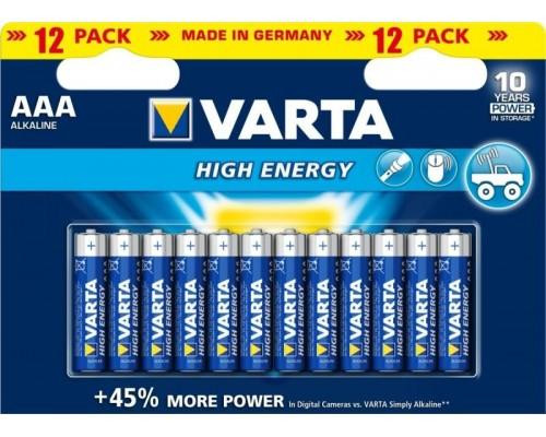 Элемент питания  AAA Varta Energy Alkaline B10