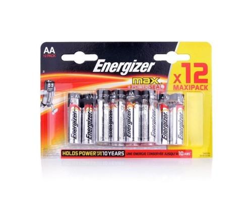 Элемент питания  AA Energizer E91/LR6 BP12 Max+Powerseal