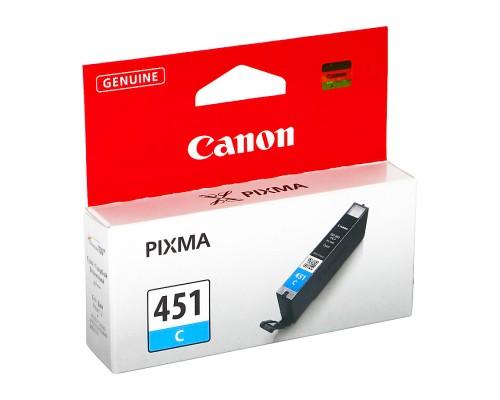Картридж Canon CLI-451C Pixma iP7240/MG5440/5540/6340/7140 Cyan (o)