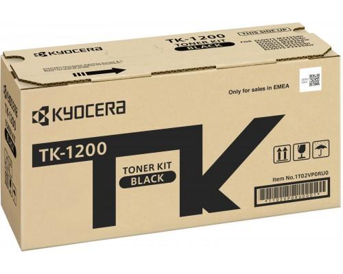 Тонер-картридж Kyocera TK-1200 для P2335d/P2335dn/P2335dw/M2235dn/M2735dn/M2835dw 3000к (O)